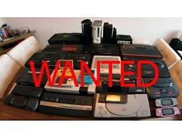 WANTED video games Nintendo sega Atari ps1 nes Super Nintendo snes n64 GameCube game boy