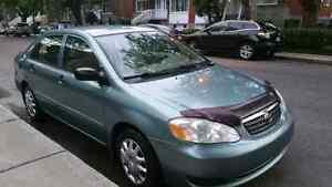 Toyota Corolla 2005 automatique Air climatisé, vitres éle. 3700$