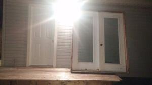 Garden Door.. @701\4 by 83 One side opens. metal