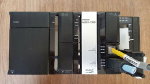 Omron PLC for sale NJ501  CPU with Power Supply, Serial module