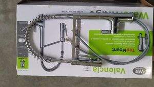 2 Kitchen Faucets and 1 Tub Faucet and Showerhead