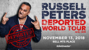 RUSSELL PETERS: DEPORTED WORLD TOUR TICKETS- NOVEMBER 15TH, 2018