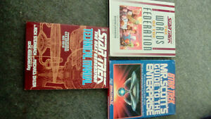Assorted Star Trek Manuals - 1980's-1990's