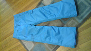 Never worn Girls size 14 (large) beautiful blue snowboard pants