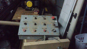 ELECTRICAL CONTROL BOX PAY LESS THEN ONE SWITCH