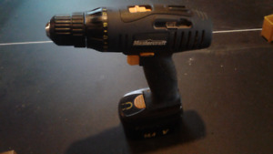 Cordless Drill and 2 Batteries