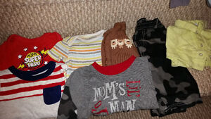 Boys clothing size 0-3months and 3-6months $5.00