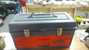 Mastercraft Tool Box  with Pull out Trays