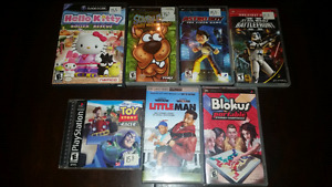 Jeux vidéos Nintendo Gamecube et Sony Playstation PSP