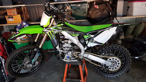 2013 kx250f in mint condition