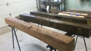 Rustic Mantels-Barn Beams