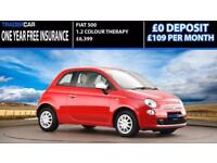 Fiat 5001.2 COLOUR THERAPY 3D - FREE INSURANCE