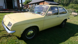 Vauxhall chevette 1300 L *NOW ON EBAY,*