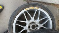 "SPARCO 17 "" RACING RIMS AND TIRES"