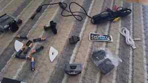 Go pro Hero 3 » 400$ with 2 cameras plus accessories and pouch