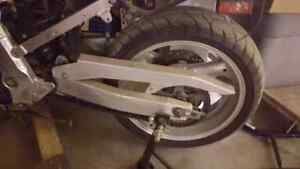 1993 gsxr 1100 swing arm assembly  complete