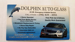 Dolphin Auto Glass  - 24 HR.  Emergency & Mobile Service
