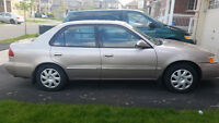 2002 Toyota Corolla LE Sedan (Safety Cleared  - valid 36 days)