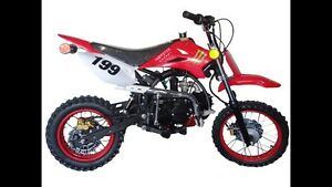 125CC 4 SPEED MANUAL!! DIRTBIKES!! MONSTER