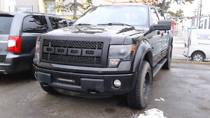 2014 Ford F-150 FX4 Super Crew Custom Rims Flares Grill Blackout