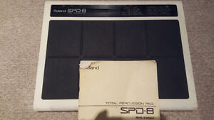 Roland SPD8 with Power Supply and Manual!