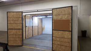 Warehouse space-Short Term Rental in Mississauga 100sqft and up