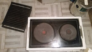Older electric Jenn Air Cooktop with Gridle option London Ontario image 2