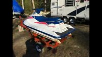 Polaris 650 triple completely overhauled with trailer