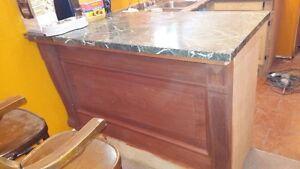 antique mahaugany bar