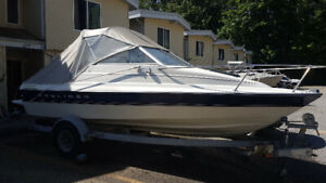 18ft Bayliner Capri Cuddy with Trailer