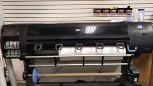 "60"" HP Large Format Printer for Sale"