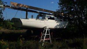 1963 28ft Soverel Sailboat Project