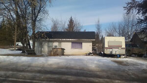 Small Fixer Upper on Large Lot