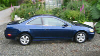 2001 Honda Accord EX Coupe Coupe (2 door)