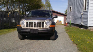 2oo6 Jeep Liberty 4x4 Trail Rated