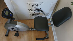 A nearly new Exercise Bike for sale