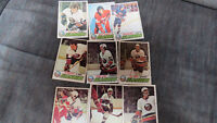 NY Islanders NHL cards(9)1977-78 Saint John New Brunswick Preview