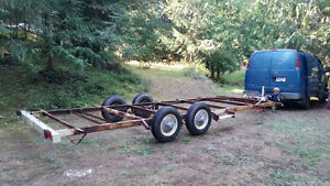 Tiny Houe Trailer or Flat Deck trailer