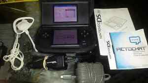 GOOD CONDITION DS LITE PLUS FREE EXTRAS & ONE GAME OF CHOICE