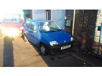 2001 Fiat seicento 45k