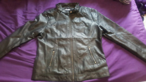 Brand new womens faux leather jacket