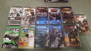 Lot of PSP Games