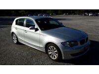 BMW 1 SERIES 118D DIESEL*FSH*60+MPG*LONG MOT!MINT!BARGAIN!audi,civic,focus,vw,astra