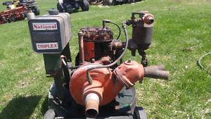 Pompe a eau moteur a gaz
