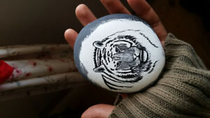 Wildlife Paintings on Stones