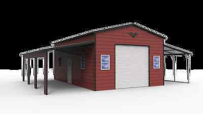 42x31 Steel Garage Barn Free Delivery Installation Nationwide Prices Vary