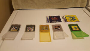 Game Boy Games - All With Cases & 2 With Booklets