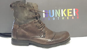 BUNKER BOOTS- LEATHER