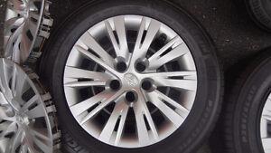 """Set complet roues Été 16"""" Toyota  Camry LE 2013-Michelin 205 65"""