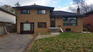 House 5 min walk to McMaster for rent